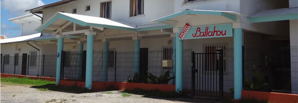 Bienvenue à l'hôtel Ballahou